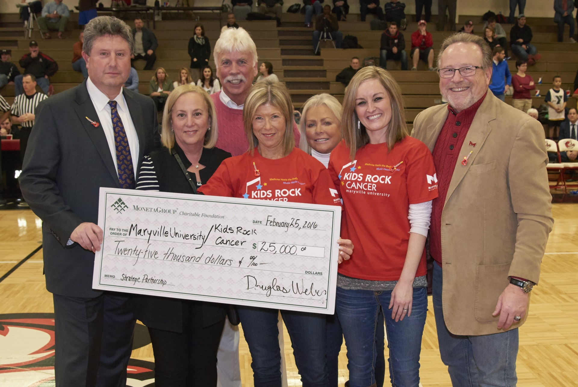 Moneta Group Charitable Foundation Grants $25,000  to Two Local Organizations, Kids Rock Cancer and Great Circle