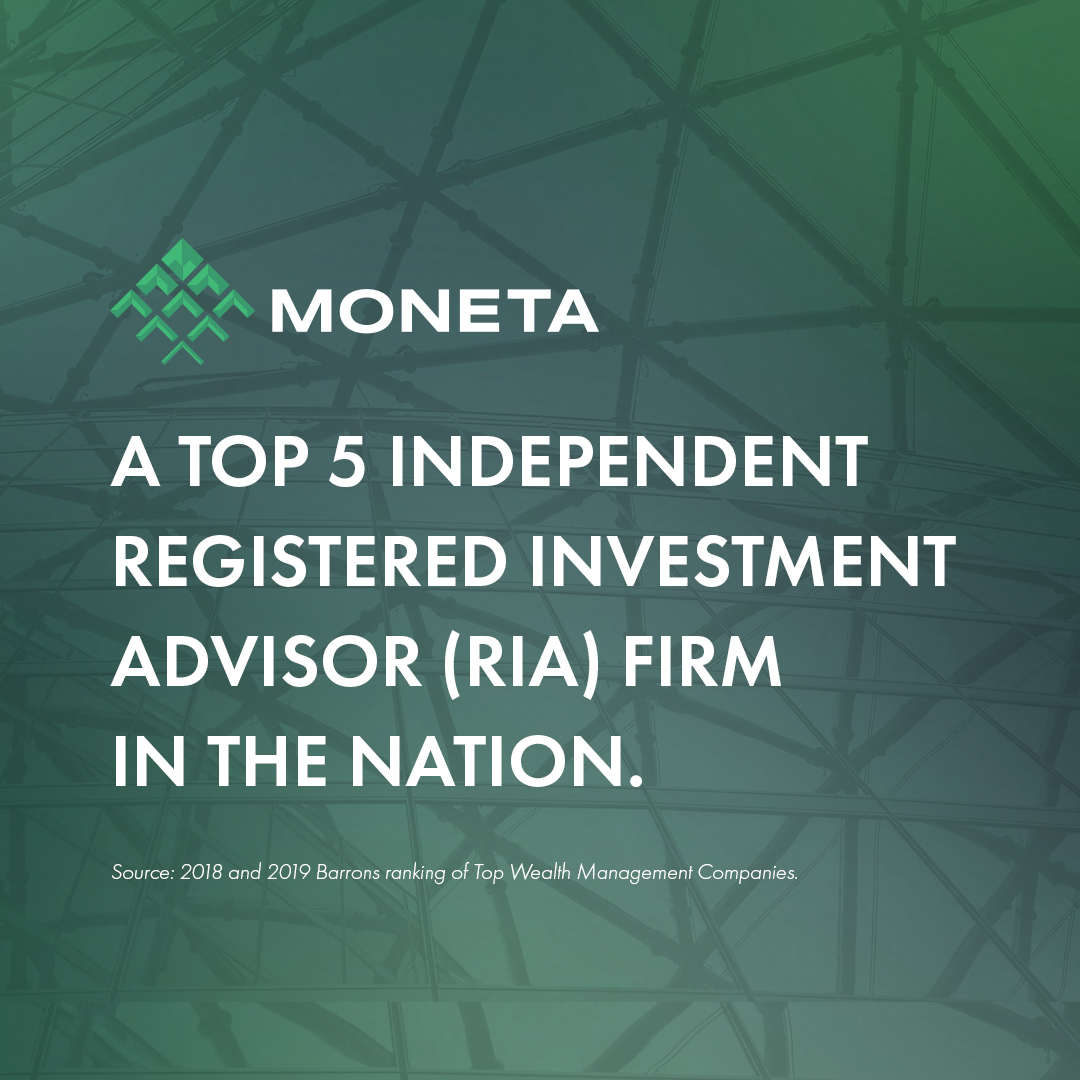 Barron's ranks Moneta among nation's Top 5 RIAs again for combination of quality and scale