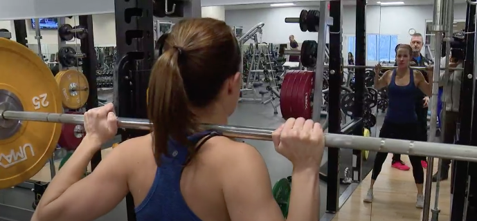 "KSDK: Nicole Bailey ""Gains are more than lifting weights"""