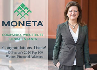 Diane Compardo Named to Barron's 2020 Top 100 Women Financial Advisors