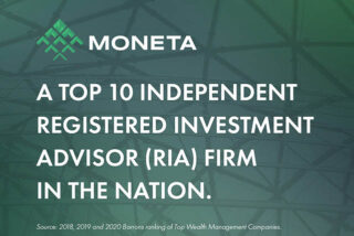 Barron's ranks Moneta among nation's Top 10 RIAs for combination of quality and scale