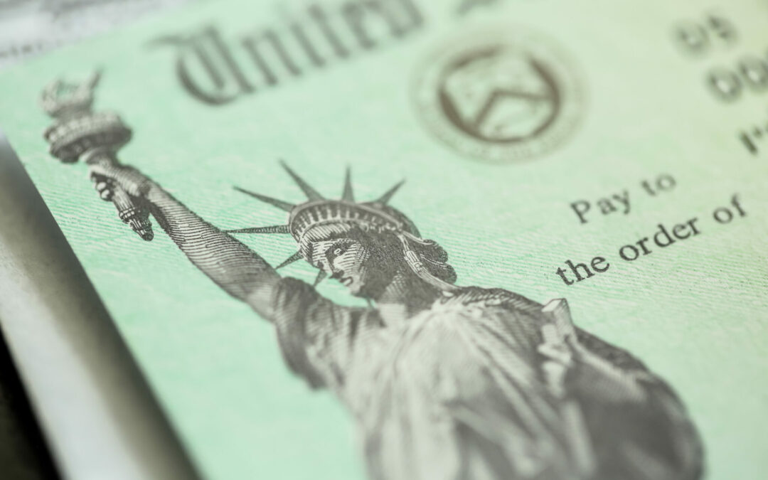 One of the Largest Spending Bills Ever is Enacted as IRS Issues Second Round of Stimulus Payments