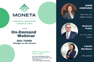 Preparing for the Upcoming Biden Income & Estate Tax Changes:  An On-Demand Webinar