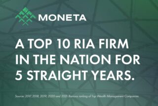Barron's again ranks Moneta among nation's Top 10 RIAs for combination of quality and scale